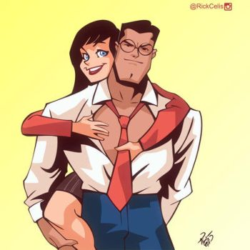 Lois and Clark by RickCelis