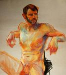 life drawing by Markruart