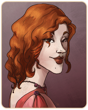 Patricia O'Donoghue by coveofmadness