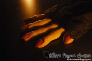 Witch's Fingers Cookies4 by bakingbee