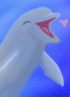 The Happy Dolphin by ToxicSerpent