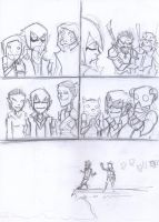 Nanashi's surprise sketch page 2 by Mailus
