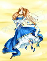 Belldandy by littleriyu