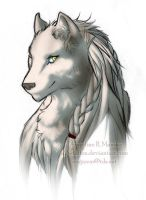Wyanet portrait by A2wildFox