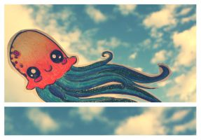 OctoPi in the Sky by RAWr-its-ASH