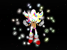 Hyper Sonic 3D by SpaceKGreen