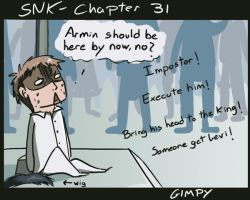 SnK - Chapter 31 spoilers by Gimpyslair
