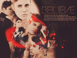 Justin Bieber 'Believe' wallpaper by BelieveInTheLove