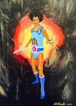 James Brown Thundercat by cARTboard