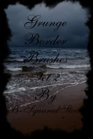 Grunge Border Brushes set 2 by B-SquaredStock