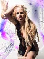 Colourful Avril Lavigne. by AndJur