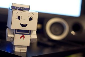 Stay Puft Cubeecraft by Doogle510