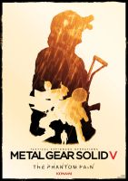 metal gear solid V phantom pain poster by Katecheta