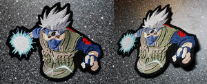 Commission: Chidori Kakashi patch by goiku