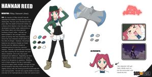 SoulEater - Hannah Profile by Kelsea-Chan