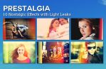 Prestalgia - 10 Retro Effects with Light Leaks by pstutorialsws
