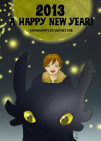 Happy 2013 by KaiDarknight