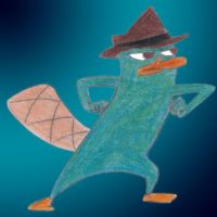Perry, y'know, being a spy. by AgentBengalTiger