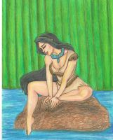 Pocahontas pinup by YourLocalConArtist