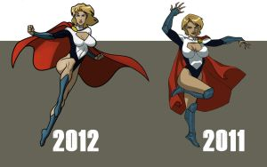 power girl by CHUBETO