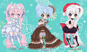 HOLIDAY ADOPTABLE AUCTION CLOSED by Lolisoup