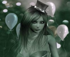 Sexy Birthday Vixen by VisualPoetress