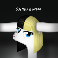 Sia Pony: This Is Acting by AldoBronyJDC