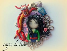 Disney FIMO Mulan by SogniDiFimoCReazioni
