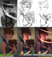 Tutorial Step by Step: Painting with AO by CGCookie