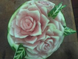 Watermelon Carving by Dead-Kitty-1313