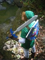 Cosplay Link OoT by HylianDragneel