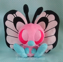 Pokemon: Pink Butterfree by sugarstitch