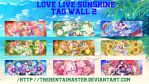 Love Live Sunshine Tag-Wall 2 by TheHentaiMaster