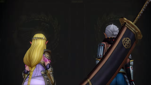 Impa and Zelda by isaac77598