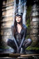 Catwoman- On the lookout by KyraKitsune