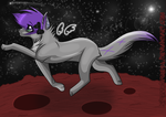 Marsy on Mars by Spottedfire94