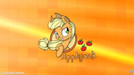 Applejack Logo - Wallpaper by Arthur9078