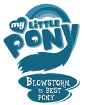 Blowstorm is Best Pony by Dualtry