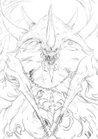 Duriel - Lord of pain sketch by muju