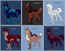 Canine adoptables - All Taken by Phoenix67