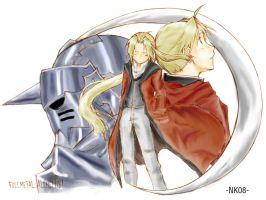 The Elric Brothers by NakamuraKaito