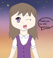 Thank you for 20+ watchers by 714aclme01