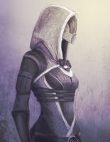 Tali from Mass Effect by Creative-Shinobi