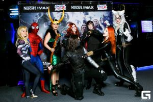 Marvel Cosplay Party (Nescafe IMAX) by AhrimanFox