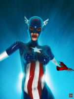 Captain Americhick by DanielMead
