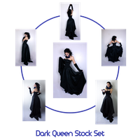The Dark Queen stock Set by charligal-stock