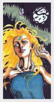 Full moon over Nimue by innerpeace1979
