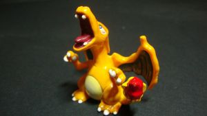 Pokemon - Charizard figure by stopmotionOSkun