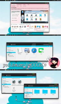 Yosemite Theme Iconpackager by k1000adesign