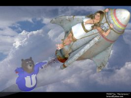 UberBear:To the Rescue02 by loraxxx